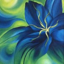 Bloemen drieluik 2